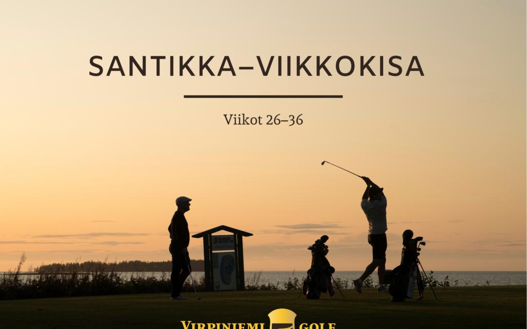 SANTIKKA-VIIKKOKISAN VKO 31 TULOKSET