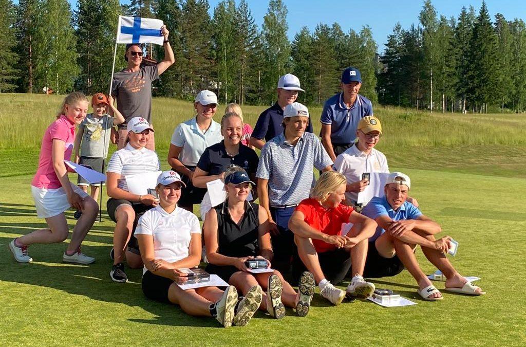 Klarissa Salonpää sijoittui kolmanneksi Vierumäellä SM-kisoissa!