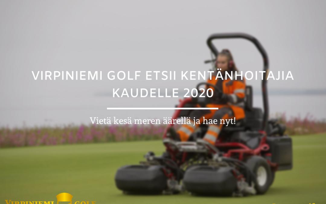 Etsimme kentänhoitajia loppukaudeksi sekä kaudelle 2021