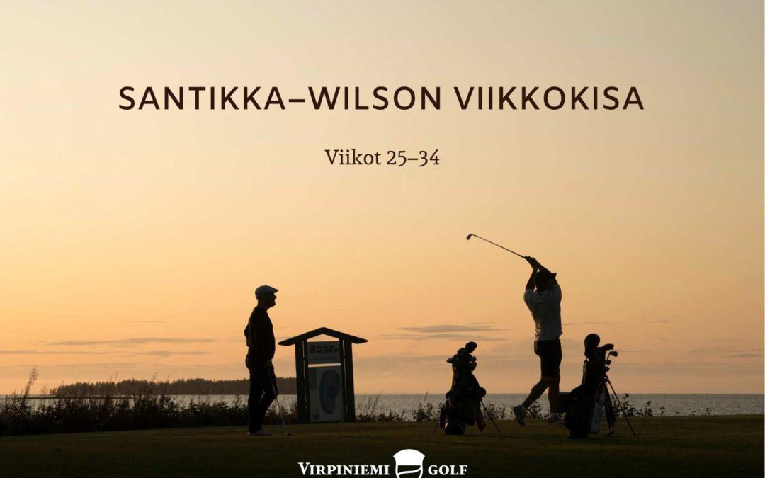 Santikka-wilson viikkokisan vko 28 tulokset