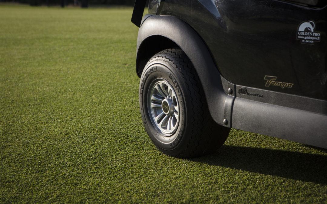 Golfautojen käyttö sallittu